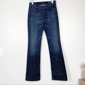 7 For All Mankind | High Waisted Bootcut Jeans 27